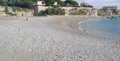 Playa El Tío Roig en Villajoyosa