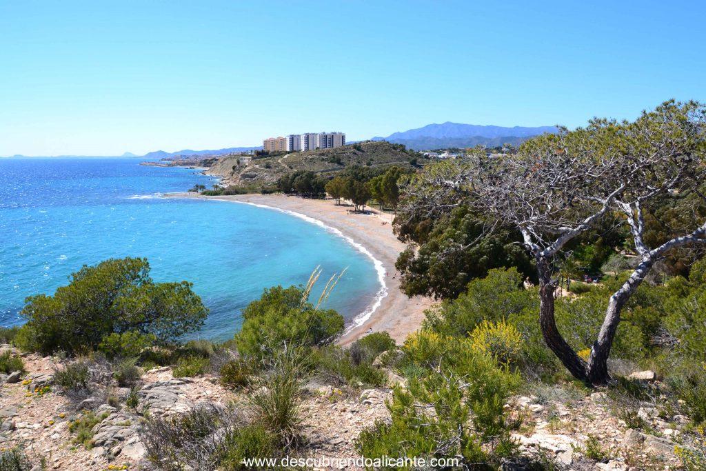 Playa El Torres en Villajoyosa