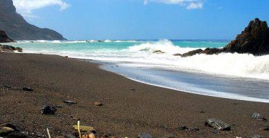 Playa El Trigo en Vallehermoso