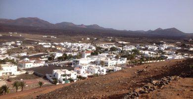 Playa El Valle de la Casa en Yaiza