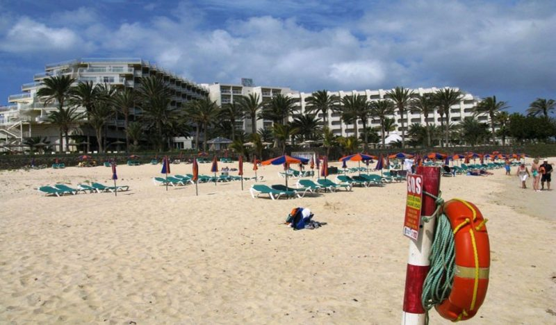 Playa El Viejo en La Oliva