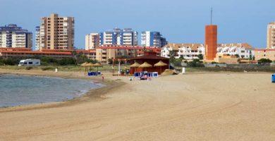 Playa El Vivero en Cartagena