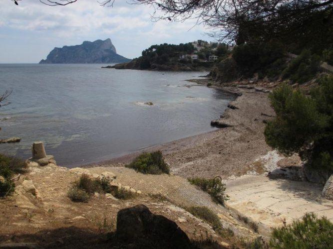 Playa Els Pinets en Benissa