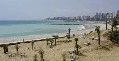 Playa Els Terrers en Benicasim