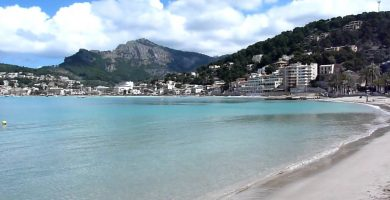 Playa En Repic en Sóller