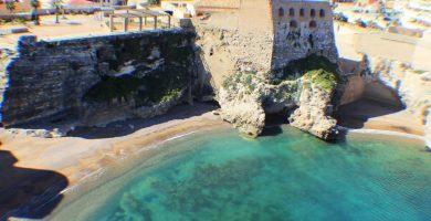 Playa Ensenada de los Galápagos en Melilla