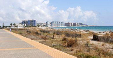 Playa Ensenada del Esparto en San Javier