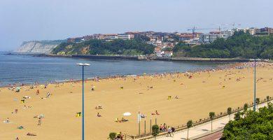 Playa Ereaga en Getxo
