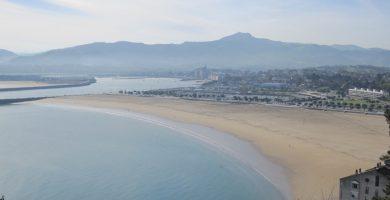 Playa Errota Sein en Hondarribia