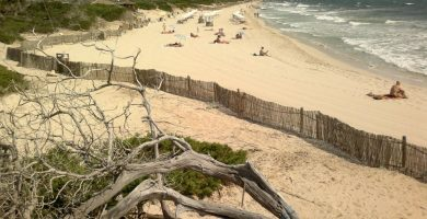 Playa Es Cavallet en Sant Josep de sa Talaia