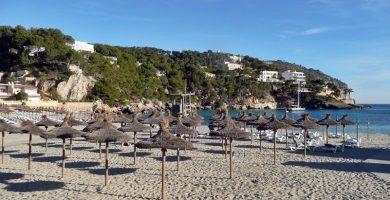 Playa Es Descarregador en Andratx