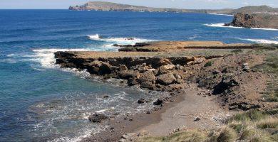 Playa Es Macar Petit en Es Mercadal