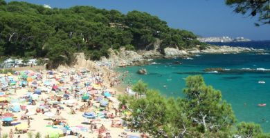 Playa Es Monestri en Calonge