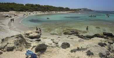 Playa Es Perengons Petits en Campos