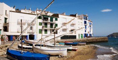 Playa Es Poal en Cadaqués