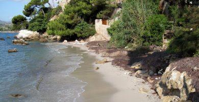 Playa Es Ribell en Son Servera