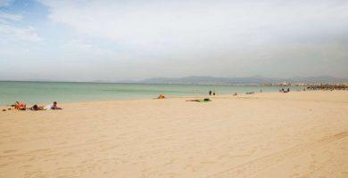 Playa Espalmador en Palma de Mallorca