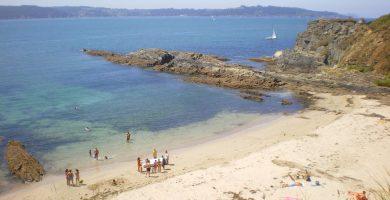 Playa Estacas en Ares