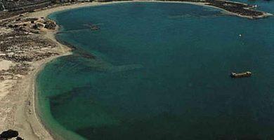 Playa Estacio en San Javier