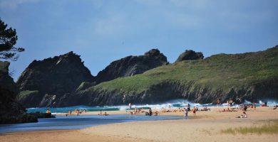 Playa Esteiro en Muros