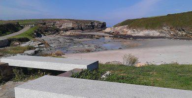 Playa Esteiro en Xove