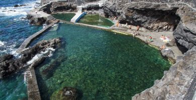 Playa Fajana de Barlovento en Barlovento