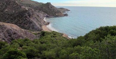 Playa Fatares en Cartagena