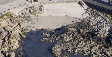 Playa Fedorento en Bueu