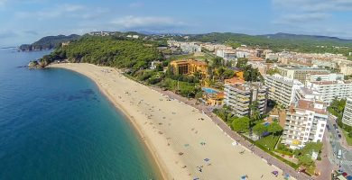 Playa Fenals en Lloret de Mar
