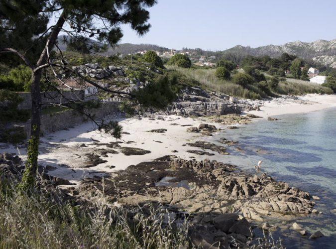 Playa Fogareiro en Muros