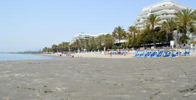 Playa Fontanilla en Marbella