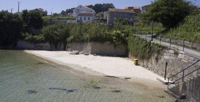 Playa Fonte Maior en Poio