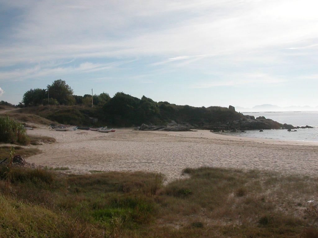 Playa Fontenla en Sanxenxo