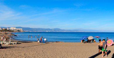 Playa Fuente de la Salud en Benalmádena