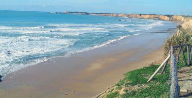 Playa Fuente del Gallo en Conil de la Frontera