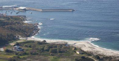 Playa Gabota en Carnota