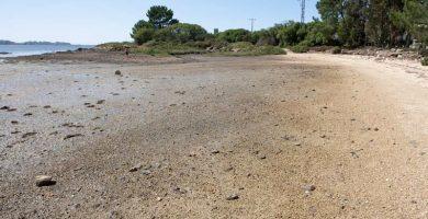 Playa Ganchino en Cambados