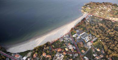 Playa Gandarío en Bergondo