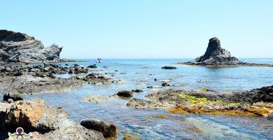 Playa Garbet en Colera