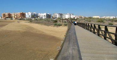 Playa Gaviota en Isla Cristina