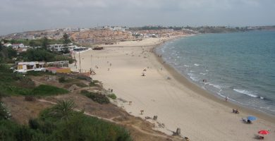 Playa Getares en Algeciras