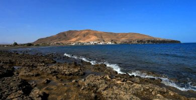 Playa Giniginamar en Tuineje
