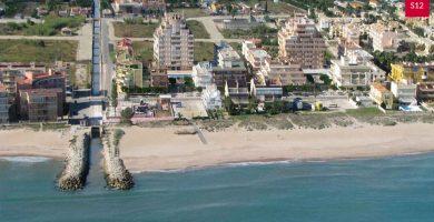 Playa Goleta en Tavernes de la Valldigna