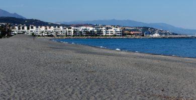Playa Guadalquitón en San Roque