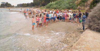 Playa Guadarranque en San Roque