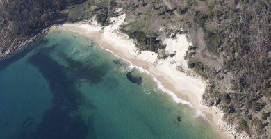 Playa Gures en Cee