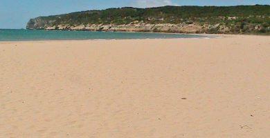Playa Hierbabuena en Barbate