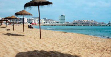 Playa Hipódromo en Melilla