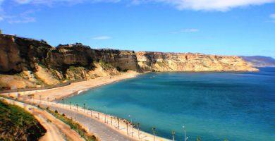Playa Horcas Coloradas en Melilla