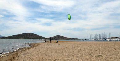 Playa Isla del Ciervo en Cartagena